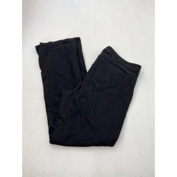 NYDJ Denim - NYDJ Women's Barbara Boot Cut Jeans Black Size 14